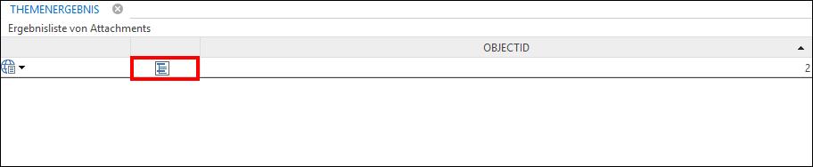 Tabellen-Aufruf im Suchergebnis