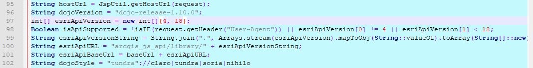 Change API version number in wo_gui.jsp file for WebOffice core client