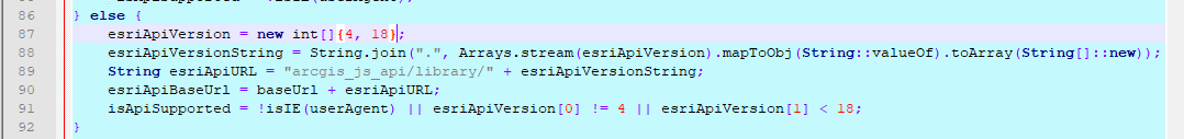 Change API version number in wo_gui.jsp file for WebOffice flex client