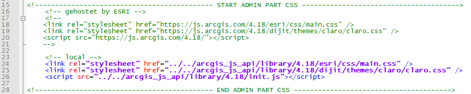 Change the API version number in the ArcGIS_WebScene.htm file for the ArcGIS Webscene custom tool