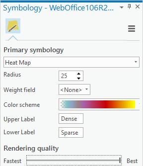 Symbology Heat Map