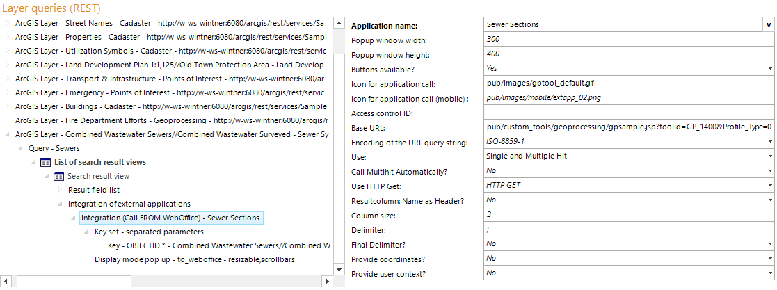 Integration (Call FROM WebOffice) configuration