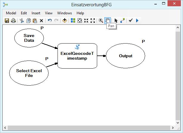 Geoprocessing model in ArcMap ModelBuilder