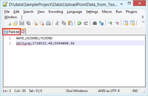 Save CSV as TXT file